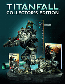 Titanfall Collector's Edition PC-Games Cover Art