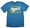 Small Blue Team Fortress 2 T-Shirt Clothing and Merchandise