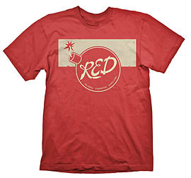 Large Red Team 2 Fortress T-Shirt Clothing and Merchandise