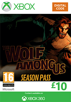 The Wolf Among Us Season Pass Xbox Live Cover Art