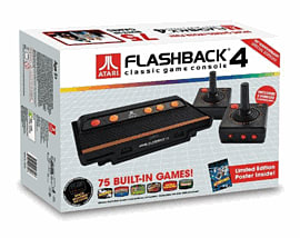 Atari Flashback console with 4 Classic Games Electronics