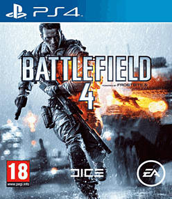 Battlefield 4 PlayStation 4 Cover Art