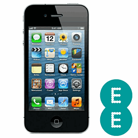Preowned iPhone 4 16GB Black (Grade A) - EE Electronics