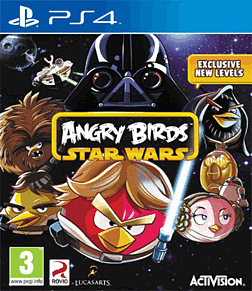 Angry Birds Star Wars PlayStation 4 Cover Art