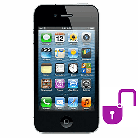 iPhone 4 32GB Black (B Grade) - Unlocked Electronics