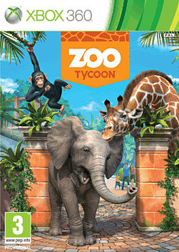 Zoo Tycoon Xbox 360 Cover Art