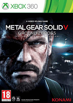 Metal Gear Solid V: Ground Zeroes Xbox 360 Cover Art