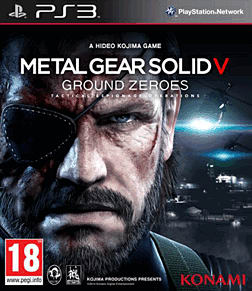 Metal Gear Solid V: Ground Zeroes PlayStation 3 Cover Art