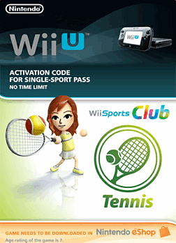Wii Sports Club - Tennis eShop Cover Art