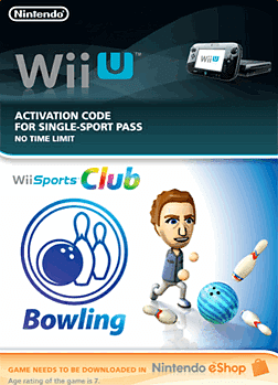 Wii Sports Club - Bowling eShop Cover Art