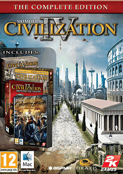 Sid Meier's Civilization IV: The Complete Edition (MAC) MAC