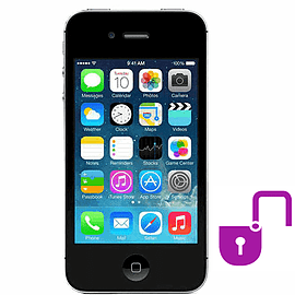 iPhone 4S 16GB Black (Grade B) - Unlocked Electronics
