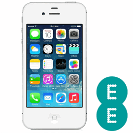 Preowned iPhone 4S 16GB White (Grade B) - EE Electronics