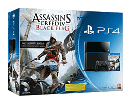 PlayStation 4 with Assassin's Creed IV: Black Flag PlayStation 4