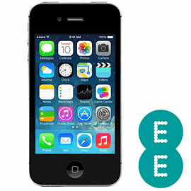 Preowned iPhone 4S 16GB Black (Grade C) - EE Electronics