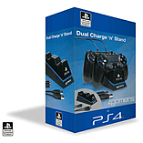 Officially Licensed CHARGE - Twin Play & Charge Cables for PS4 (Black) screen shot 1