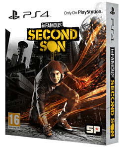 InFAMOUS: Second Son Special Edition PlayStation 4 Cover Art
