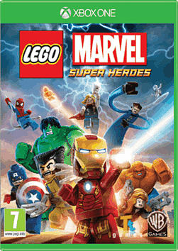 LEGO Marvel Super Heroes Super Pack Edition Xbox One Cover Art