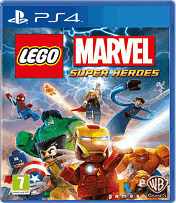 LEGO Marvel Super Heroes Super Pack Edition - Only at GAME PlayStation 4 Cover Art