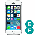 Preowned iPhone 5 16GB Silver (Grade C) - EE Electronics