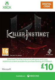 Killer Instinct Credit - £10 Xbox Live