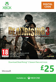 Dead Rising 3 Season Pass Xbox Live Cover Art