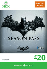 Batman: Arkham Origins Season Pass Xbox Live Cover Art