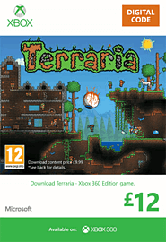 Terraria Xbox Live Cover Art