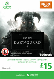The Elder Scrolls V: Skyrim - Dawnguard Xbox Live Cover Art