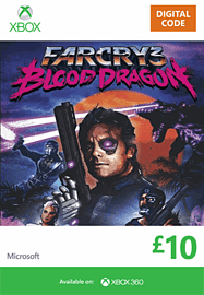 Far Cry 3: Blood Dragon Xbox Live Cover Art