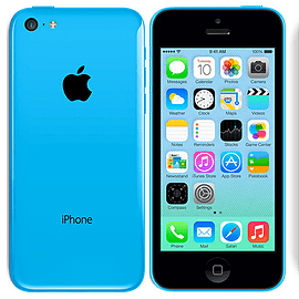 iPhone 5C 16GB Blue (Grade B) - Unlocked Electronics