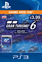 Gran Turismo 6: 500,000 In-Game Credits PlayStation Network