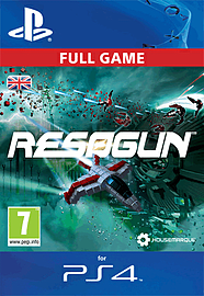 Resogun PlayStation Network Cover Art