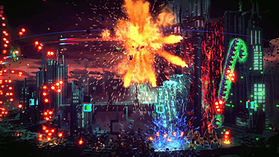 Resogun screen shot 2