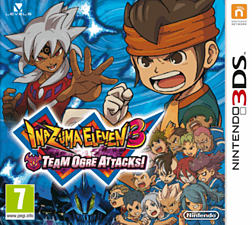 Inazuma Eleven 3: Team Ogre Attacks! 3DS Cover Art