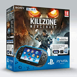PlayStation Vita (Wifi Only) with Killzone: Mercenary and 16GB Memory Card PS Vita