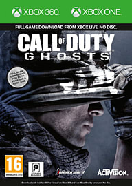 Call of Duty: Ghosts Xbox 360 and Xbox One Digital Combo Xbox-360 Cover Art