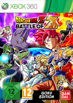 Dragon Ball Z: Battle of Z Goku Edition - Only at GAME Xbox 360 Cover Art
