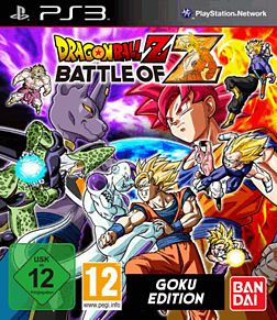 Dragon Ball Z: Battle of Z Goku Edition PlayStation 3 Cover Art