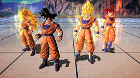 Dragon Ball Z: Battle of Z Goku Edition screen shot 1