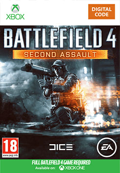 Battlefield 4: Second Assault Xbox Live Cover Art