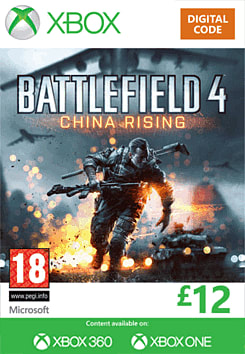 Battlefield 4: China Rising Xbox Live Cover Art