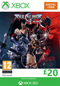 Soul Calibur II HD Online Xbox Live Cover Art