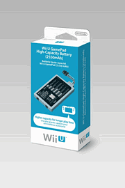 Wii U Game Pad High Capacity Battery Accessories