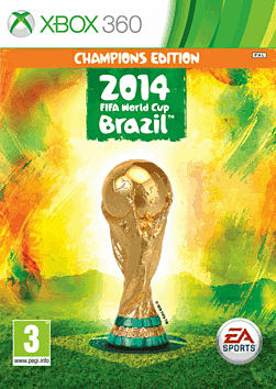 EA SPORTS 2014 FIFA World Cup Brazil Champions Edition - Only at GAME Xbox 360 Cover Art