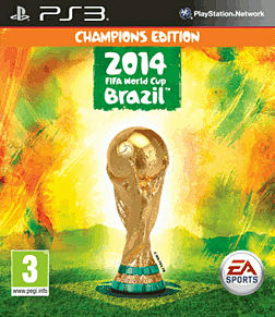 EA SPORTS 2014 FIFA World Cup Brazil Champions Edition - Only at GAME PlayStation 3 Cover Art