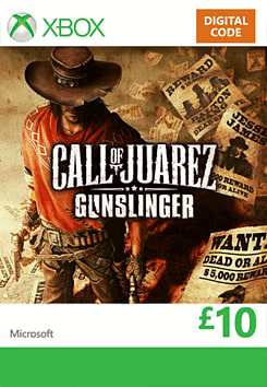 Call of Juarez: Gunslinger Xbox Live Cover Art