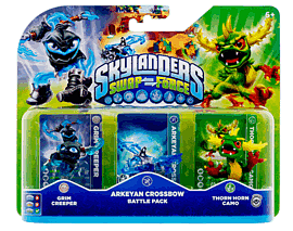 Skylanders SWAP Force Arkeyan Crossbow Battle Pack Toys and Gadgets