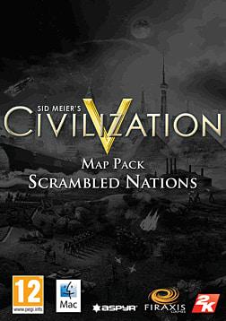 Sid Meier's Civilization V: Scrambled Nations Map Pack (MAC) Mac