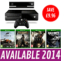 Xbox One Console with Forza 5, Dead Rising 3, Ryse: Son of Rome and Call of Duty: Ghosts Xbox One